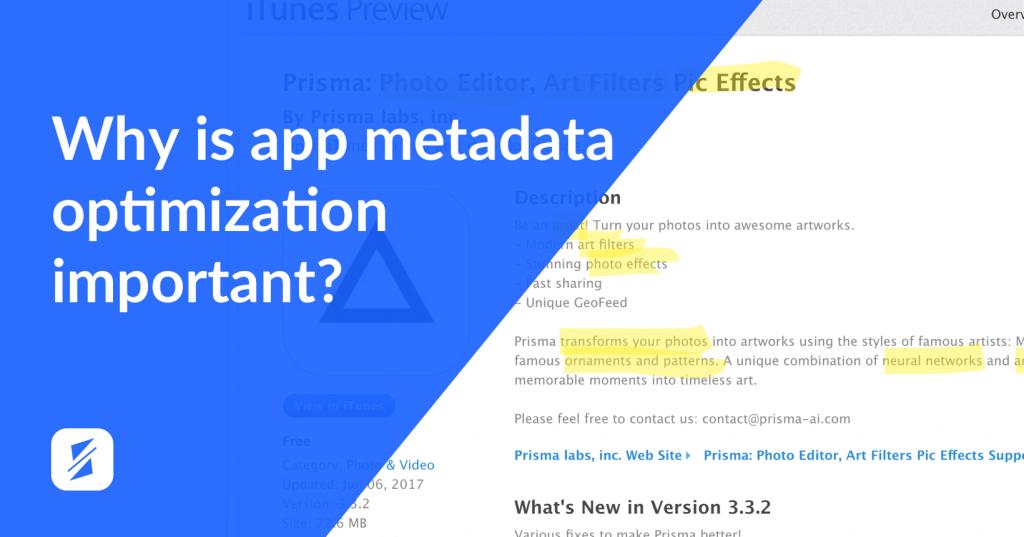 2 app metadate optimization splitmetrics