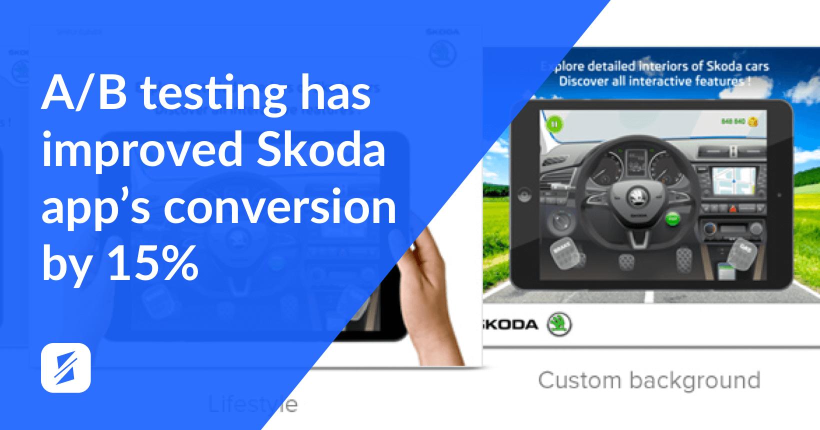4 mobile app ab testing skoda app splitmetrics