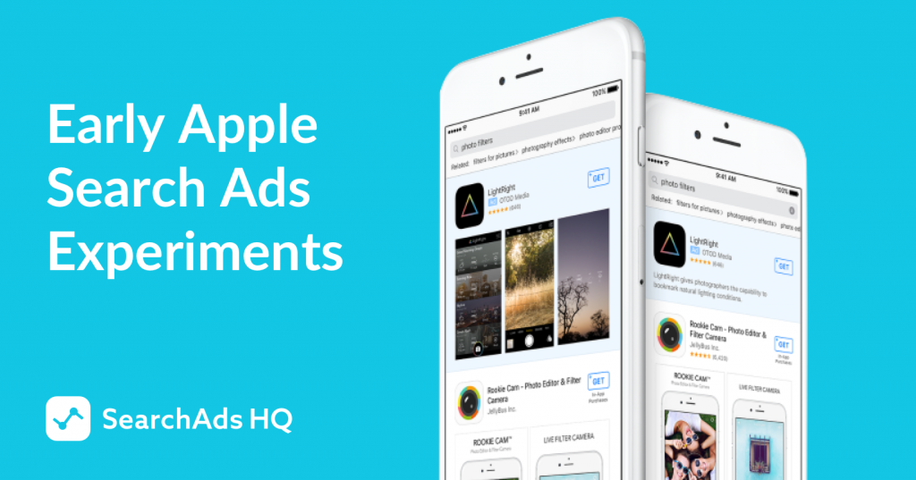 11 apple search ads experiments splitmetircs searchadshq