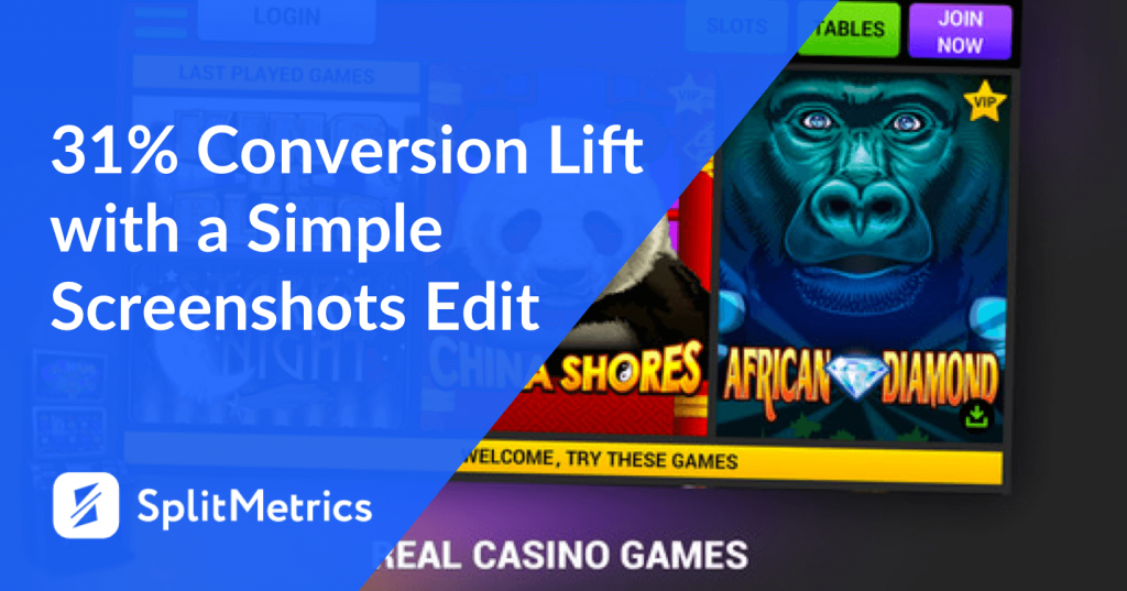 12 app store screenshots conversion rate splitmetrics
