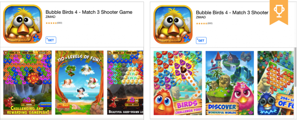 case study from Bubble Birds 4