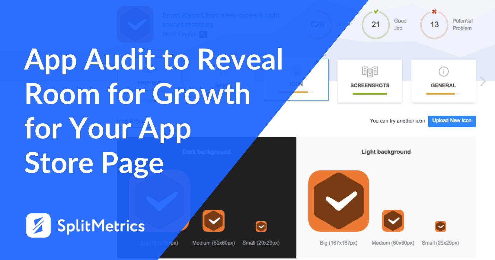 18 app store page app audit splitmetrics