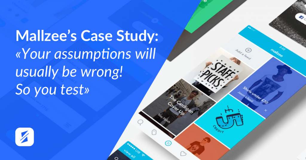 app ab testing case study mallzee