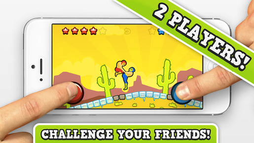 Mobile game for 2 players