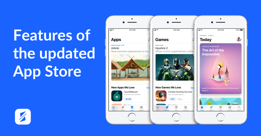 app store new design splitmetrics main