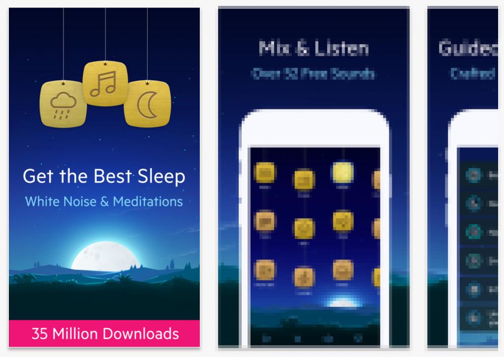 app store screenshots relax splitmetrics