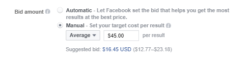 Facebook App Install Ads bidding splitmetrics