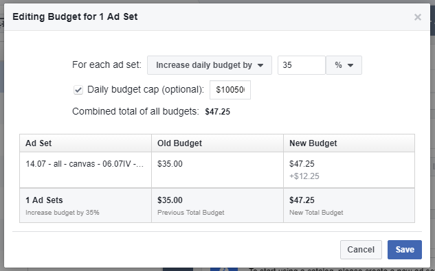 Facebook App Install Ads budget splitmetrics