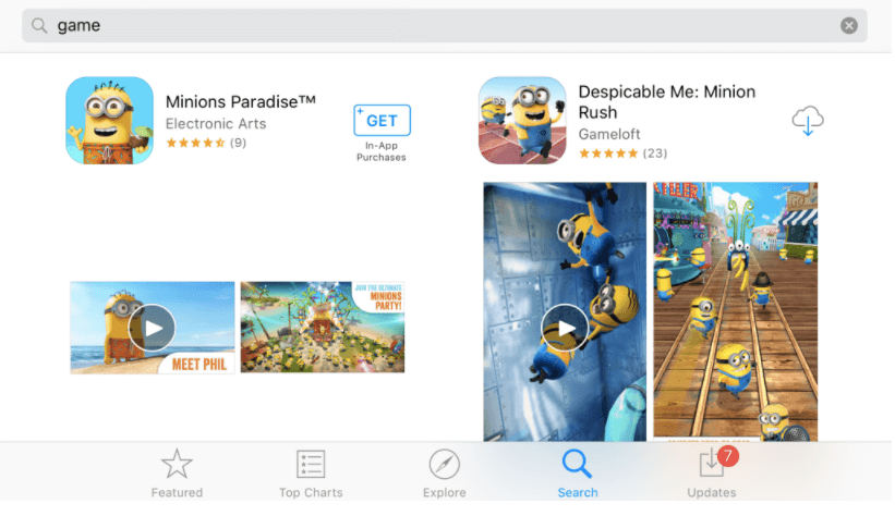 App Store Screenshots orientation SplitMetrics examples