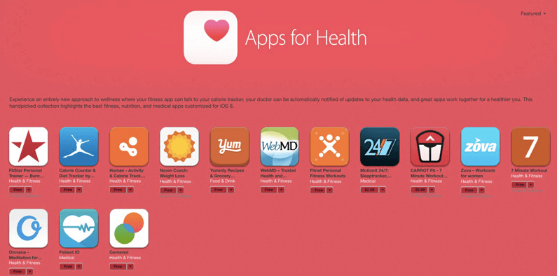 App Store guidelines for health apps