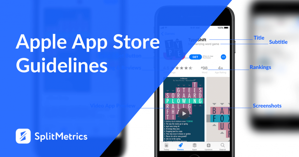apple app store guidelines main image splitmetrics