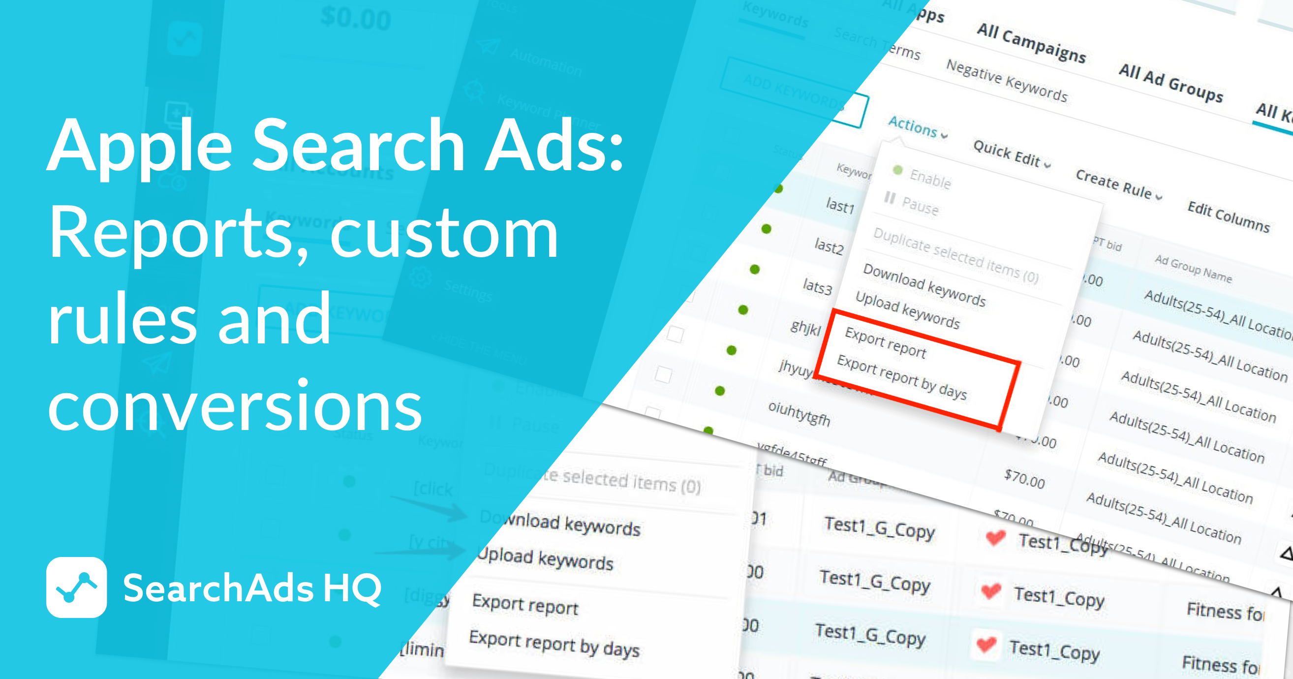 updates for apple search ads
