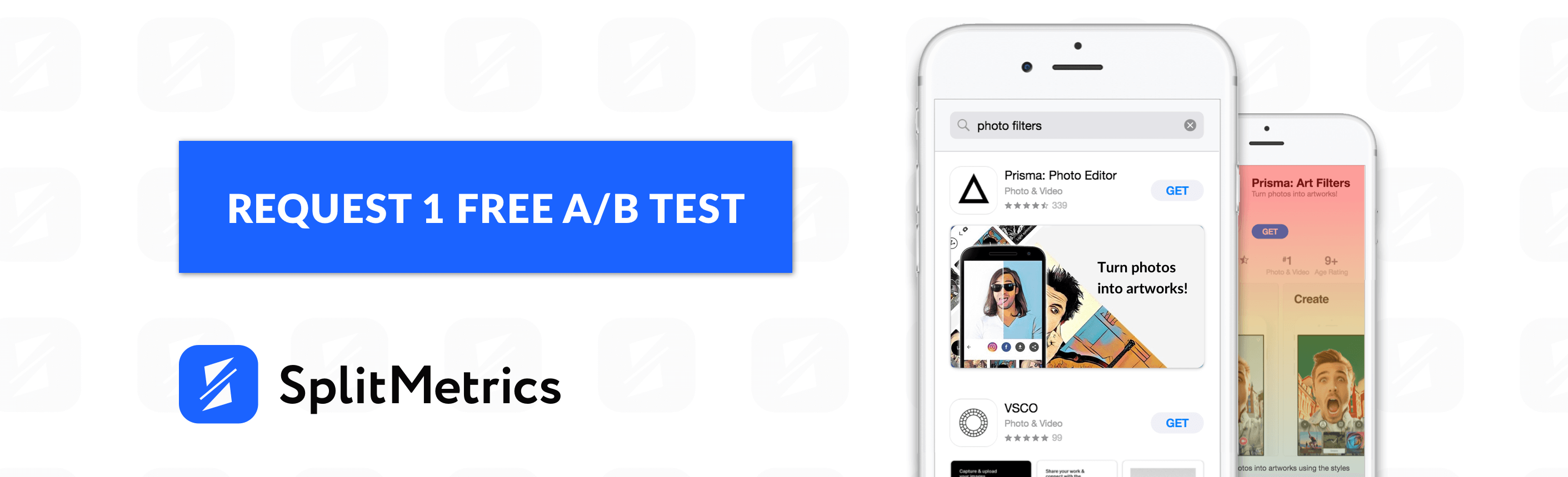 splitmetrics app ab test button