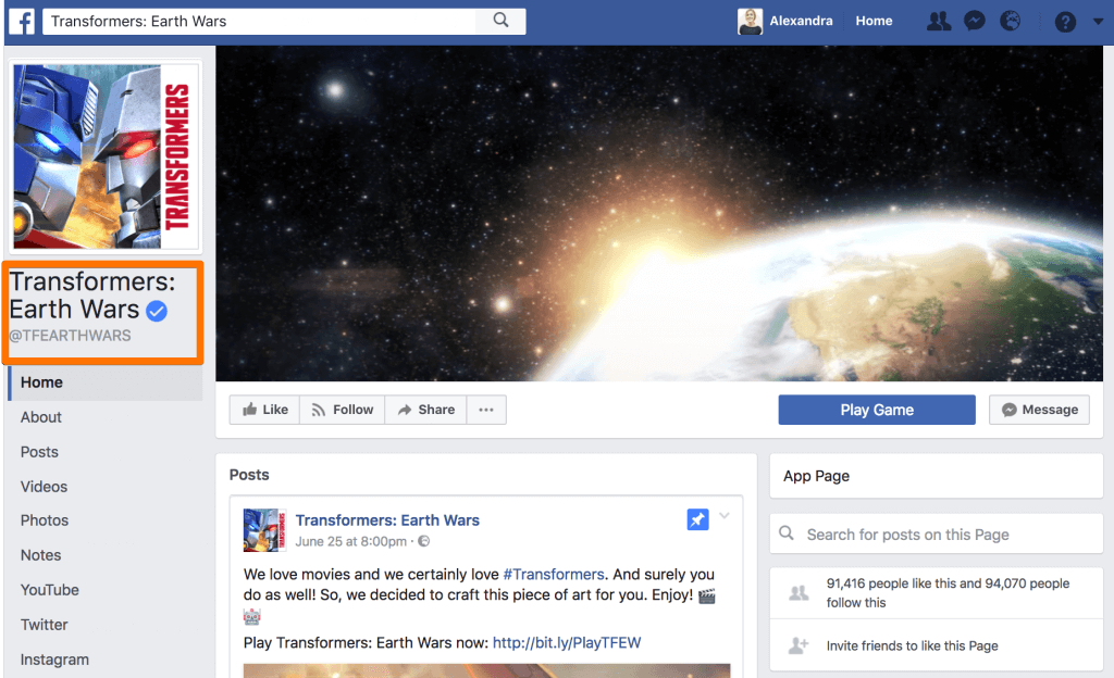 A/B testing Banners with Facebook ads