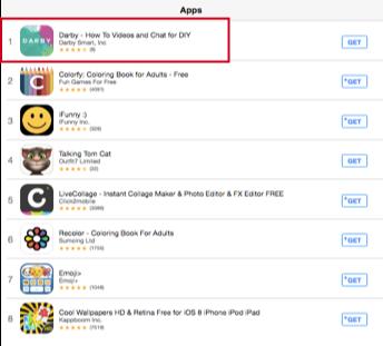A/B testing simpler app icon