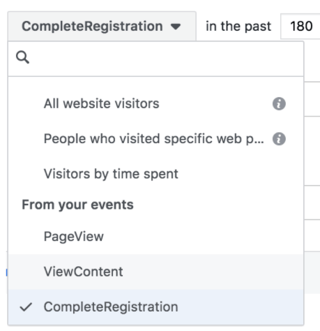Completing Custom Audience Registration