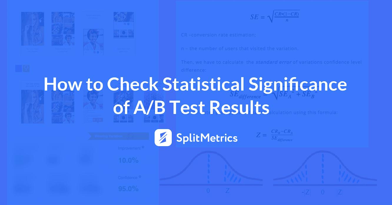 statistical principles of SplitMetrics mobile A/B testing