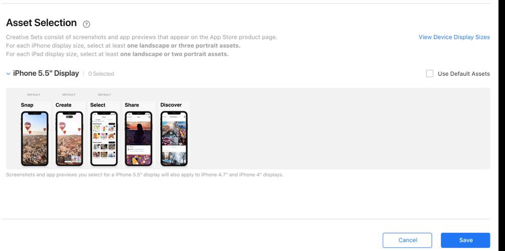 App Store Screenshot Sizes 2018