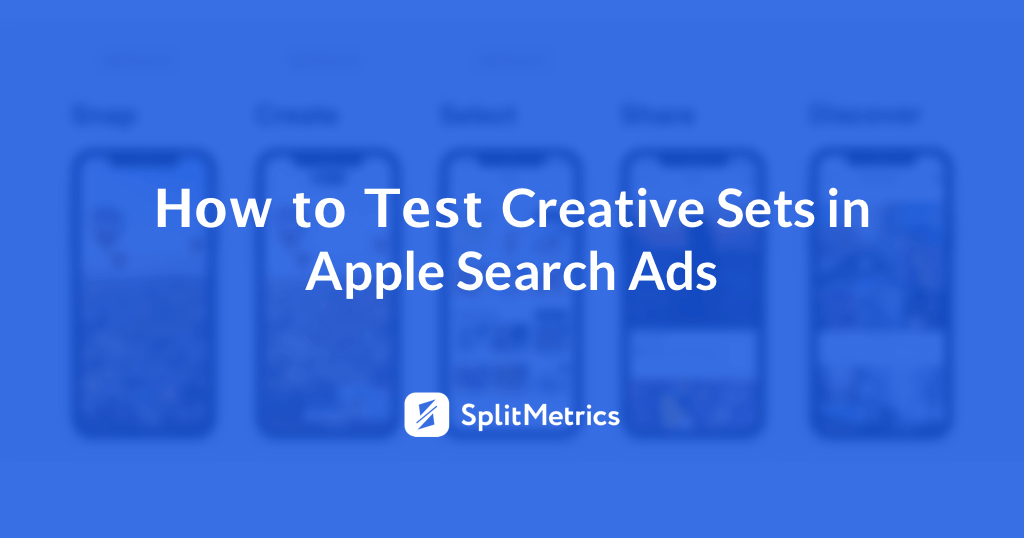 Search Ads Creative Sets testing