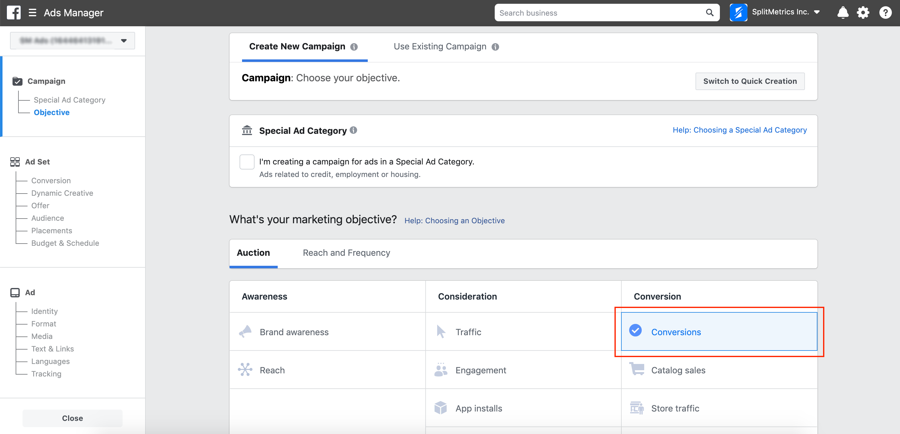 Optimizing Ad Campaigns for SplitMetrics actions