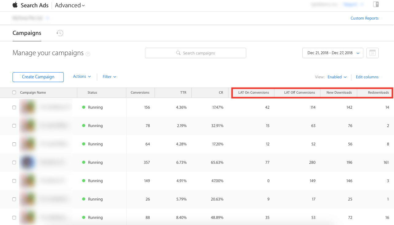 Search Ads Conversion Insights