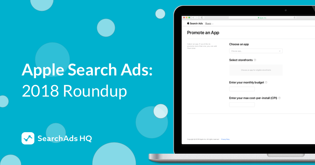 Search Ads Roundup 2018