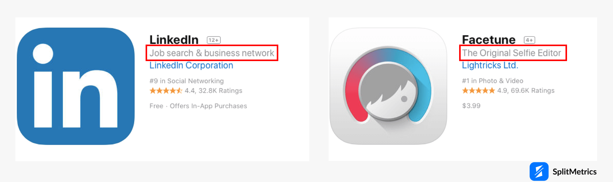 apple app store guidelines: subtitle
