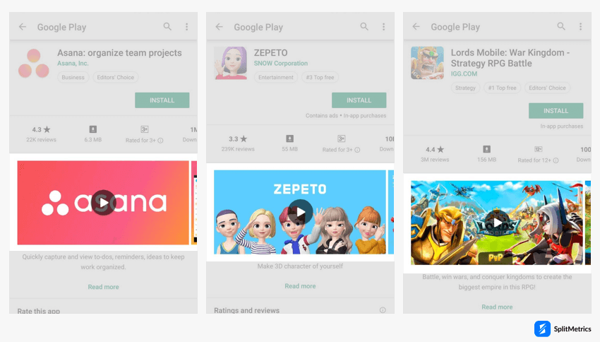 Play Store product page: featured graphic