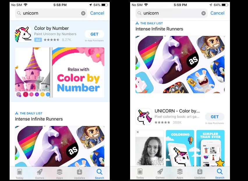 Apple Search Ads branded keywords