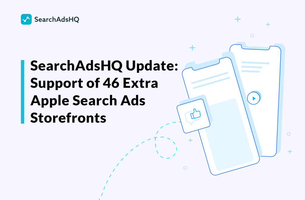 Apple Search Ads storefronts update
