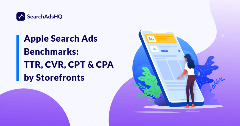 Apple Search Ads Benchmarks Report 2019 – Storefronts