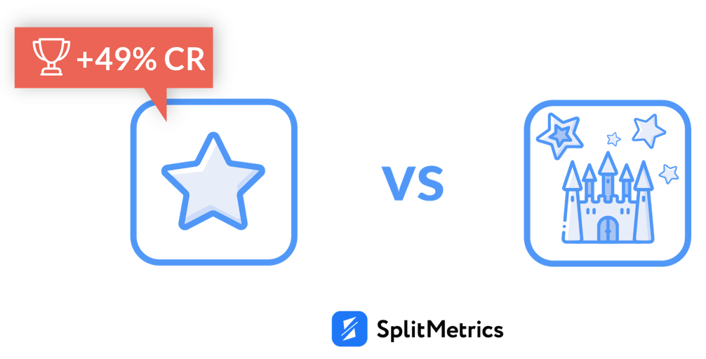 app icon A/B experiments with SplitMetrics