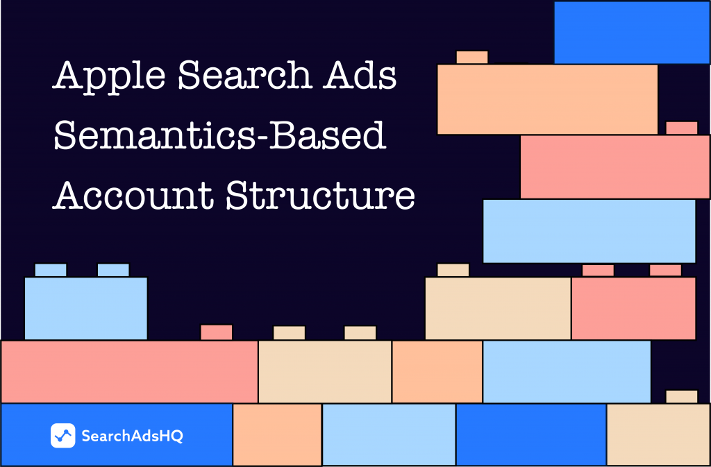 Apple Search Ads semantics-based account