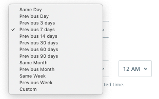 Apple Search Ads automation_date range