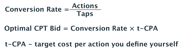 Apple Search Ads conversion rate