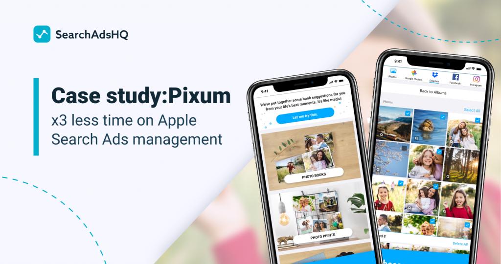 Pixum, Apple Search Ads