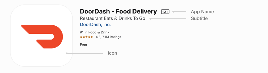 App Store icon_DoorDash