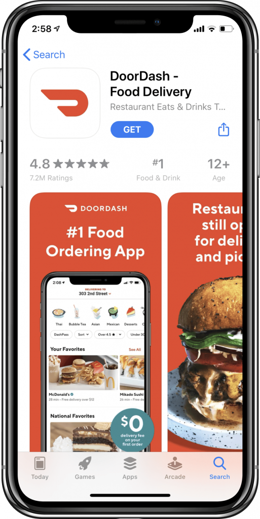App Store product page_DoorDash