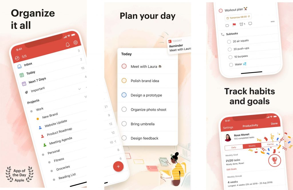 Creative Sets_Todoist track habits