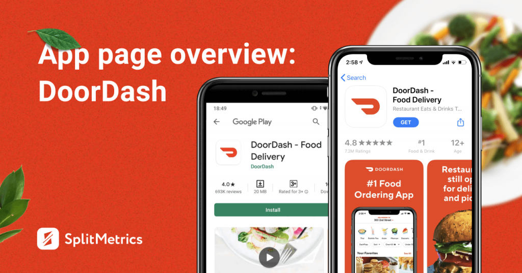 DoorDash app on the App Store and Play Store