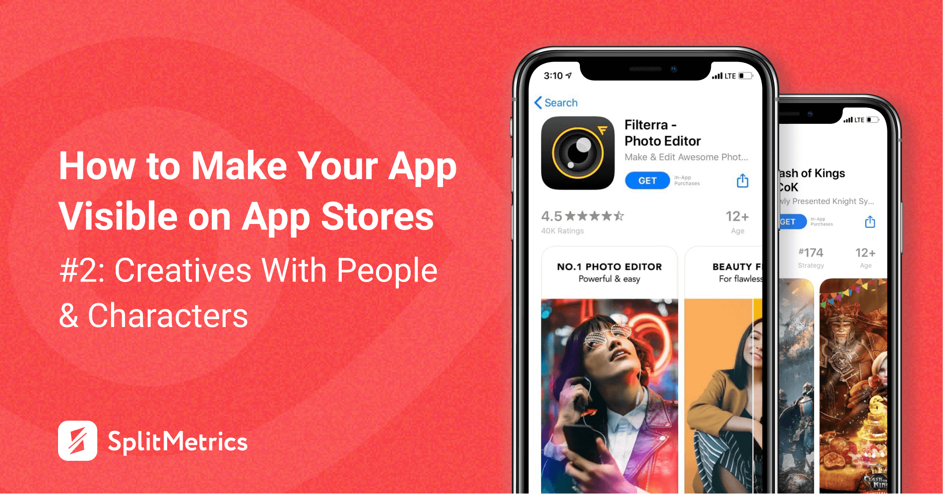 App store creatives with people