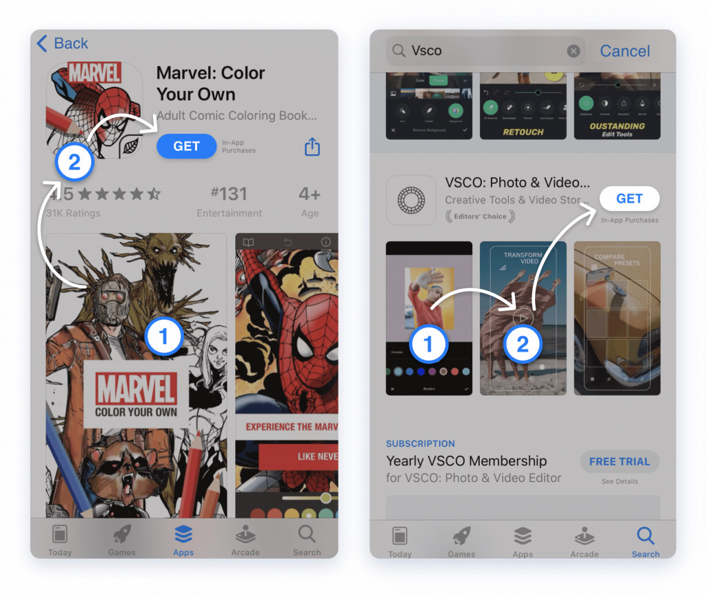 App store creatives_manipulate attention